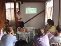talleres de capacitación a instructores epi ecology project internationa fundar galapagos galápagos cedevis centro demostrativo de vida sustentable